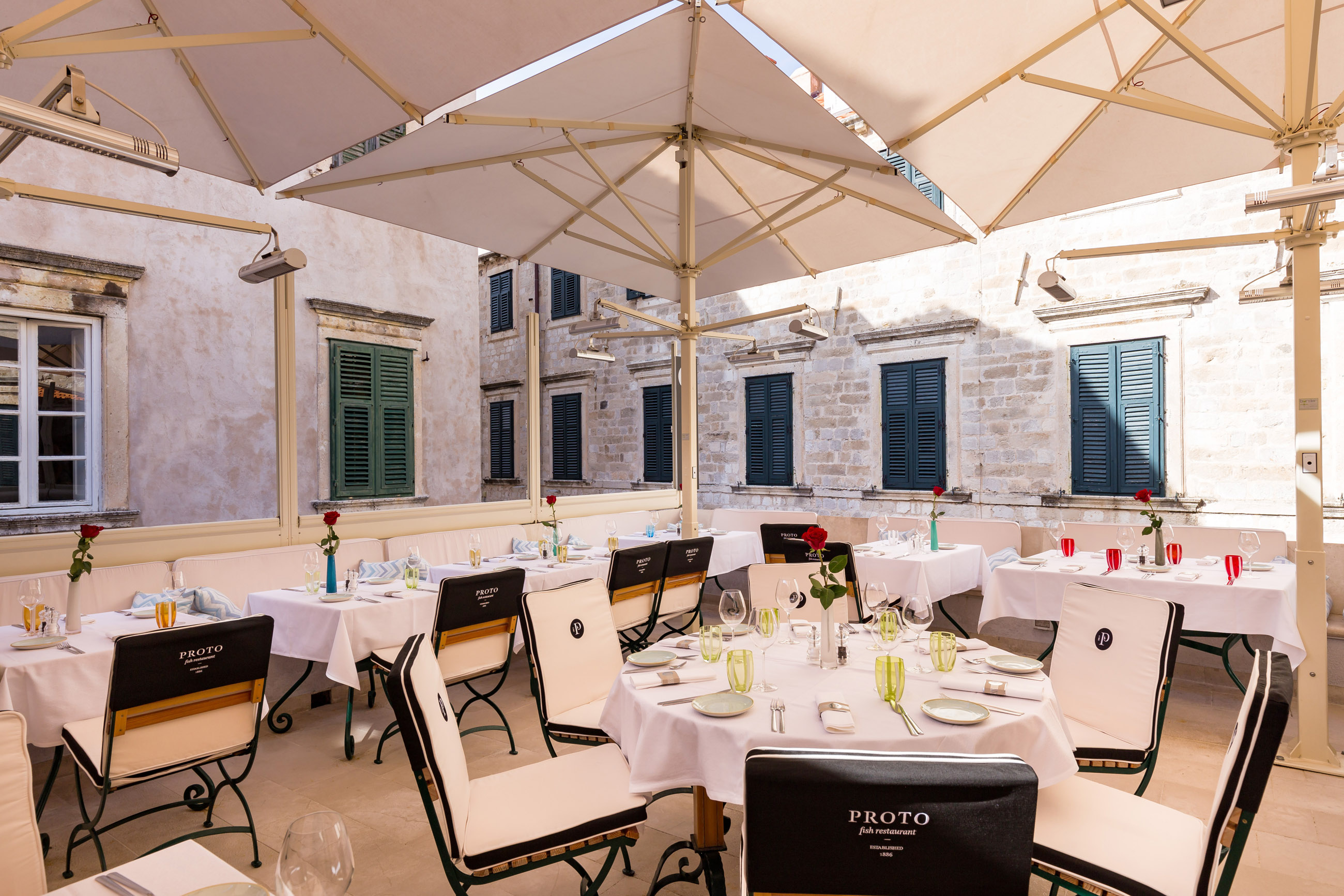 Fish restaurant Proto Dubrovnik Old Town Old City